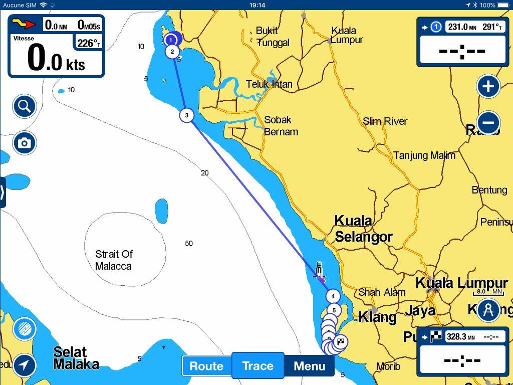Penang à Selat Indah Marina